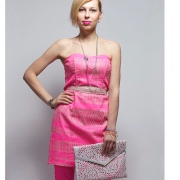 H&M Dresses & Skirts - H & M • Pink strapless dress